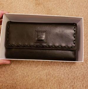 Dooney and Bourke Florentine Checkbook Wallet